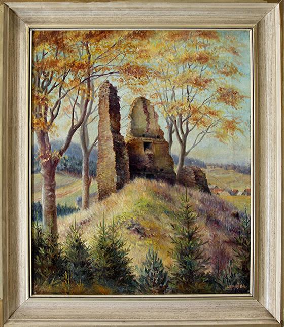 Zřícenina hradu Melechov