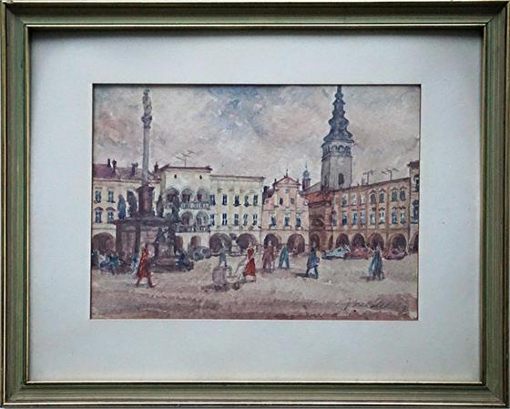 Nový Jičín-náměstí