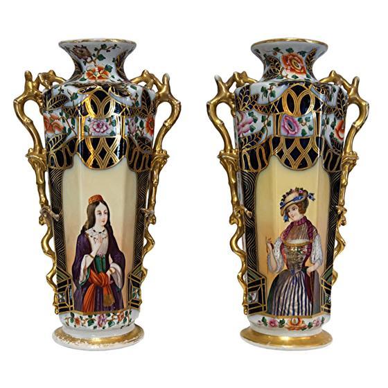 Velké párové vázy