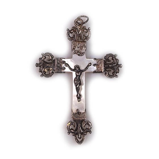 Stříbrný kříž