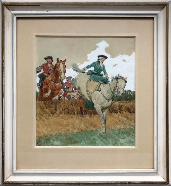 Šlechtic na koni