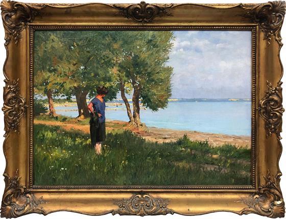 Žena u jezera