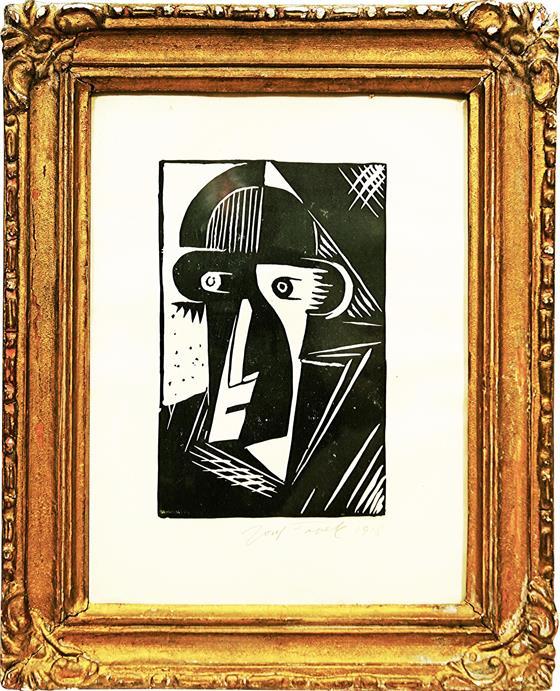 Kubistický portrét