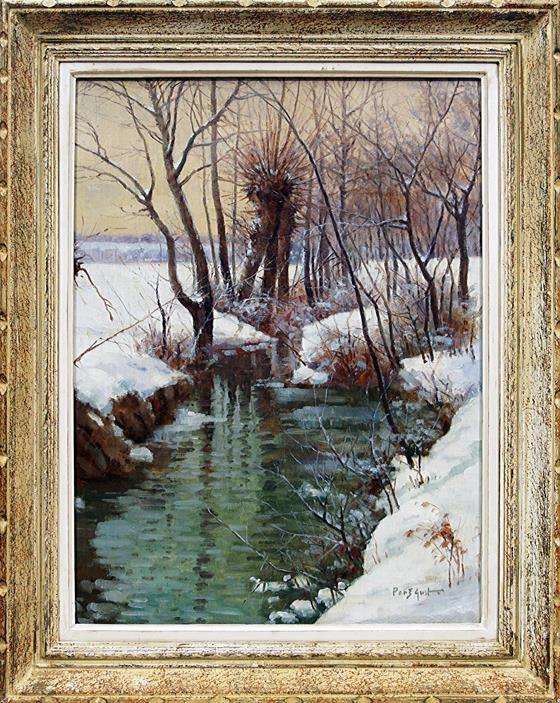 Zima u potoka