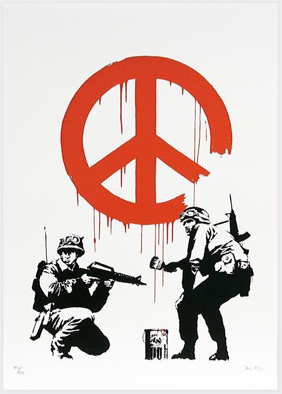 Vojáci a graffiti