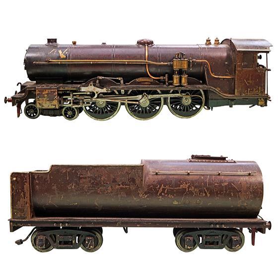 Rarita - funkční parní stroj - lokomotiva