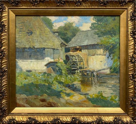 Vodní mlýn - 1905