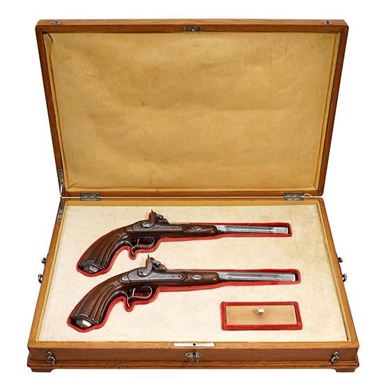Párové perkusní pistole